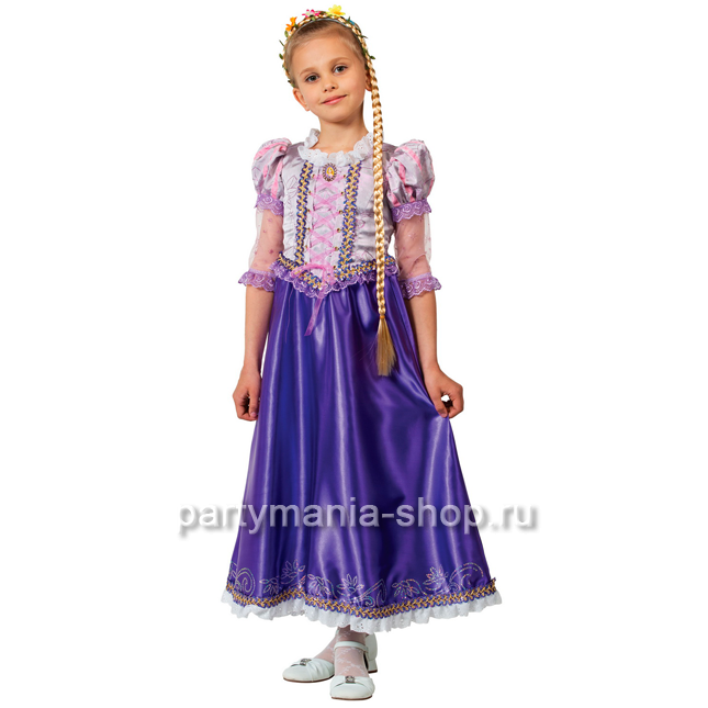 Костюм принцессы Рапунцель