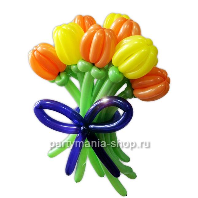 Букет Тюльпанов из шаров