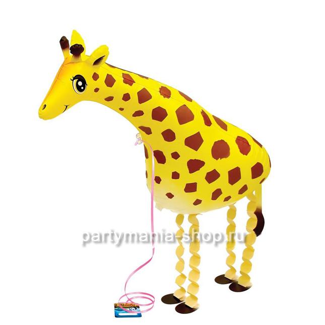 «Жираф» фигурный шар с гелием