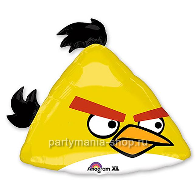 Жёлтая птичка Angry Birds