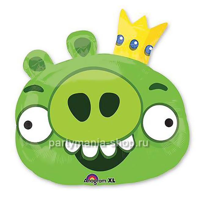 Король свиней из Angry Birds