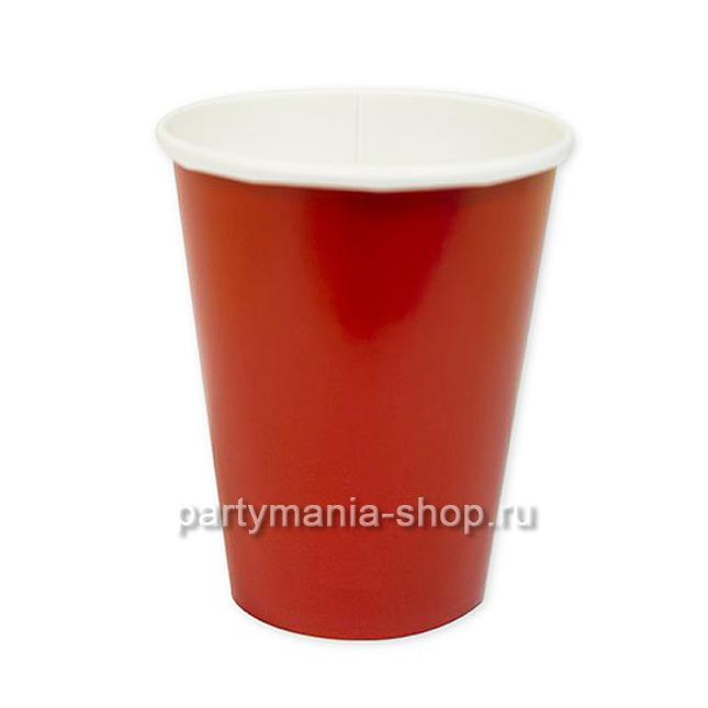 Красные стаканы 8 шт