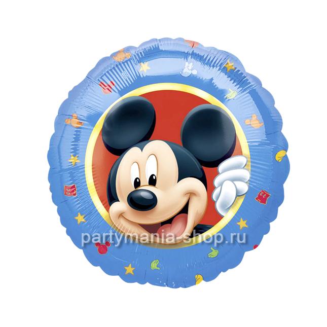 «Микки Маус» фольгированный шар 46 см