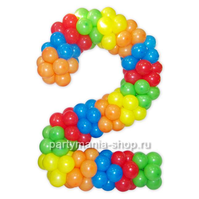8 из шариков