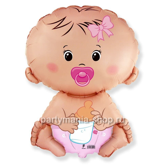 «Карапуз девочка» фигурный шар