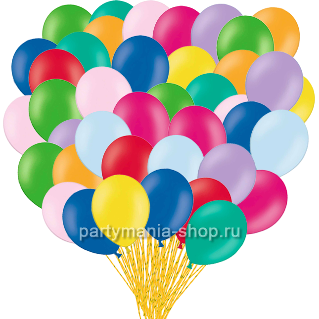 Ассорти шаров 100 шт с бесплатной доставкой