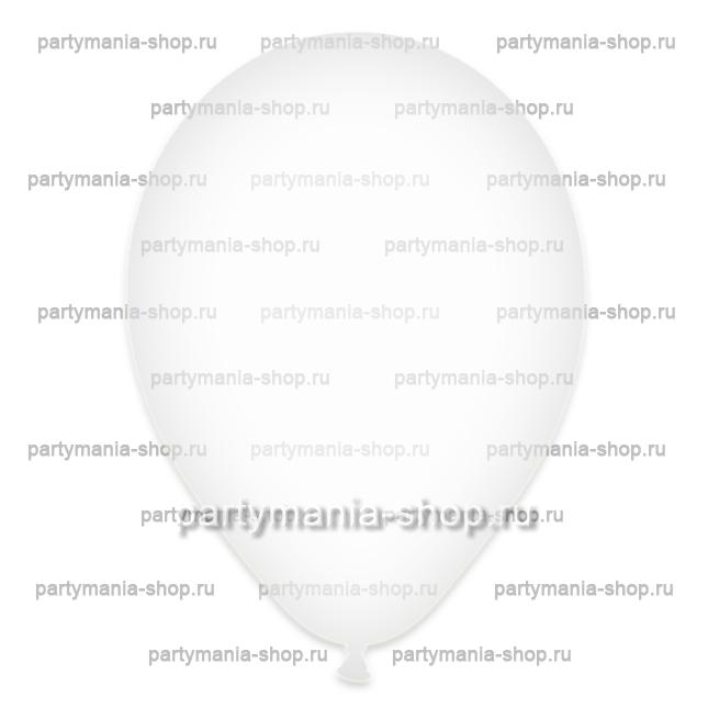 Прозрачный шар 35 см (бесцветный)