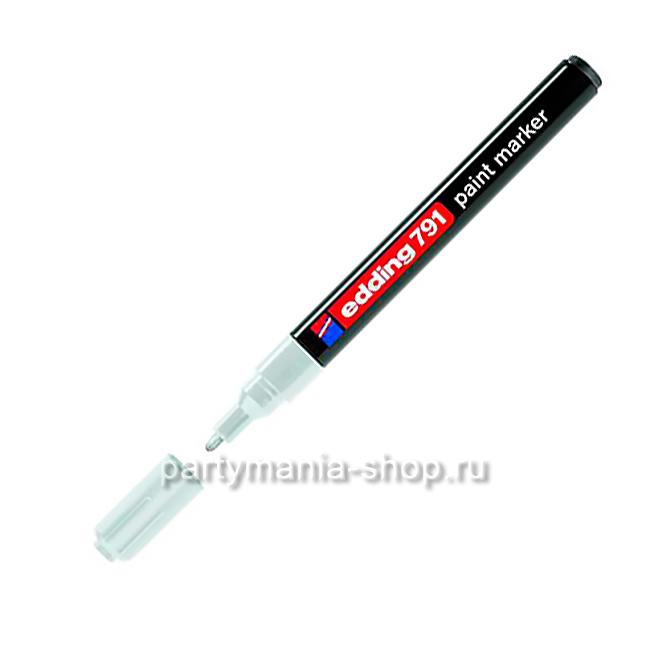 Лаковый маркер для воздушных шаров Белый