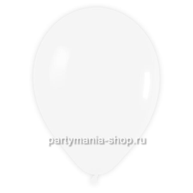 Белый шар пастель 35 см