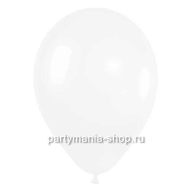 Белый шар перламутр 33 см
