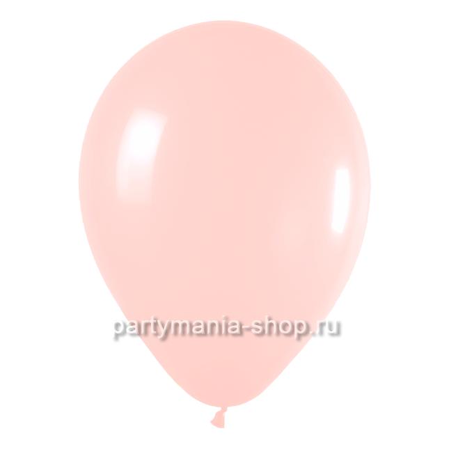 Розовый шар пастель 35 см