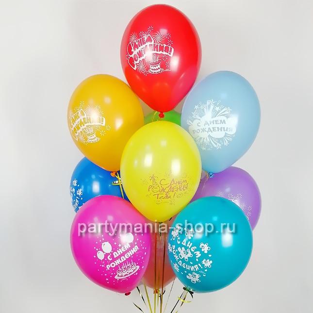 «День рождения» композиция из шаров