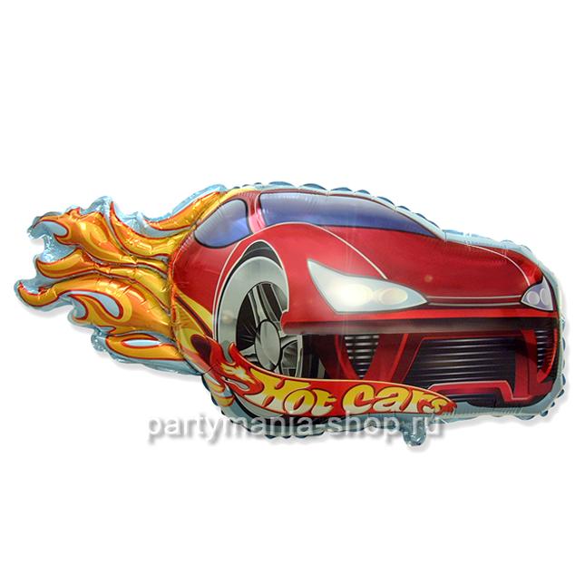Гоночная тачка Hot cars фигурный шар