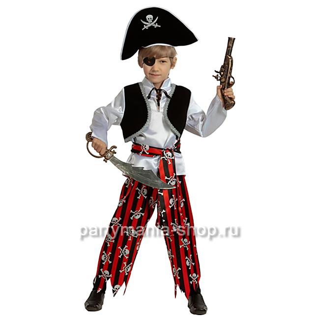 Костюм пирата (текстиль)