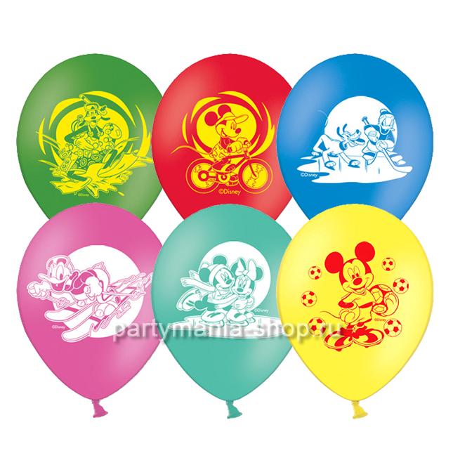 """«Микки Маус» воздушные шары 12"""""""
