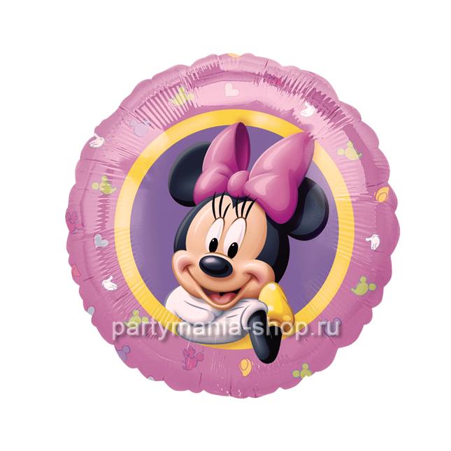 «Минни Маус» фольгированный шар 46 см