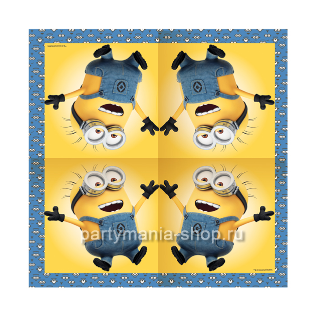 Салфетки  «Миньоны»