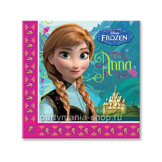 Салфетки  «Холодное сердце» Анна и Эльза