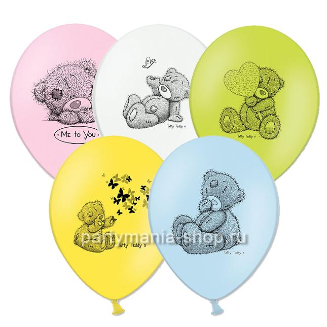 «Me to you» шары с мишками