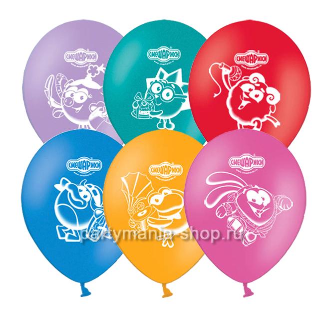 «Смешарики» воздушные шары