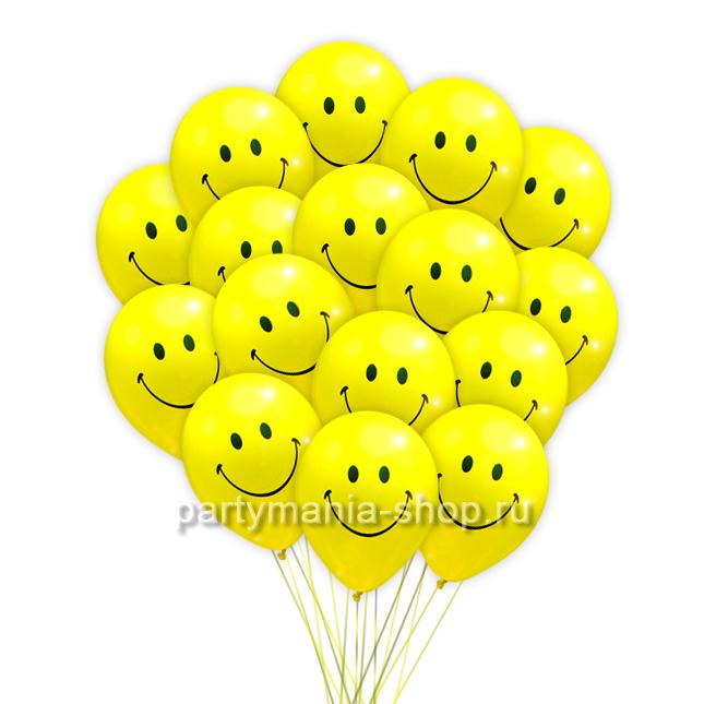 «Желтые смайлы» 25 шт.