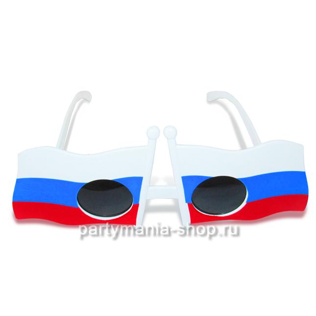 Карнавальные очки «Russia»