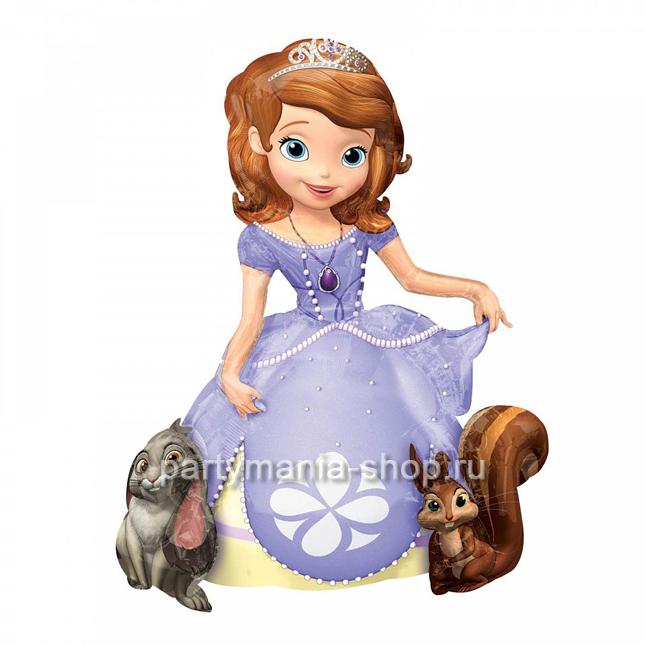 «Принцесса София» ходячая фигура