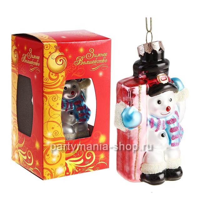 Ёлочная игрушка «Снеговик»