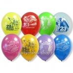 «23 февраля» шары ассорти