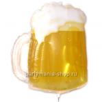 Пивная кружка фигурный шар с гелием