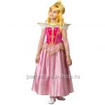 Костюм принцесса Аврора с ожерельем