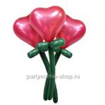 Цветы «Сердечки»