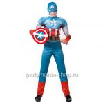 Костюм капитана Америка с мышцами