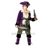 Костюм капитана пиратов (лиловый)