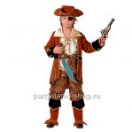 Костюм капитана пиратов (коричневый)