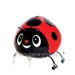 «Божья коровка красная» фигурный шар с гелием