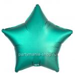 Фольгированная звезда тиффани сатин с гелием 46 см