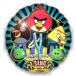 Поющий шар «Angry Birds» с гелием