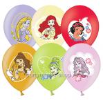 «Принцессы Дисней» шары металлик с многоцветной печатью