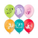 «Принцессы Дисней» шары с печатью 2 стороны