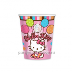 Стаканы «Hello kitty» 8 шт.