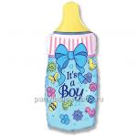 «Бутылочка для мальчика» фольгированная фигура