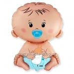 «Карапуз мальчик» фигурный шар