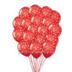30 шаров «Летящие сердца»  с бесплатной доставкой