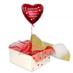 Валентинка шар в коробке