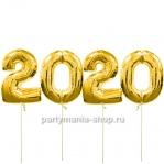2020 набор фольгированных цифр