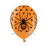 Шар Пауки оранжевый