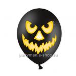 Злой шар черный