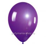 Фиолетовый шар металлик 33 см