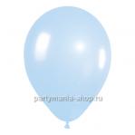 Голубой шар металлик 33 см